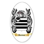 Buckton Sticker (Oval)