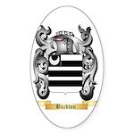Buckton Sticker (Oval 50 pk)
