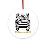 Buckton Ornament (Round)