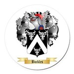 Buckles Round Car Magnet