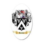 Buckles 20x12 Oval Wall Decal