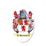 Buckland Oval Car Magnet