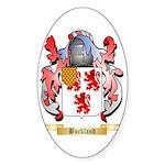 Buckland Sticker (Oval 50 pk)