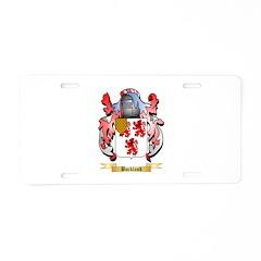 Buckland Aluminum License Plate