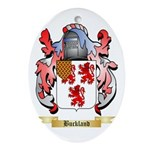 Buckland Ornament (Oval)