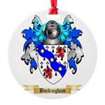 Buckingham Round Ornament