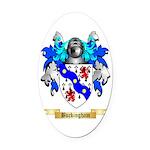Buckingham Oval Car Magnet