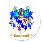 Buckingham Round Car Magnet