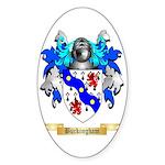 Buckingham Sticker (Oval 50 pk)