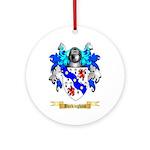 Buckingham Ornament (Round)