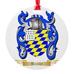 Buckby Round Ornament