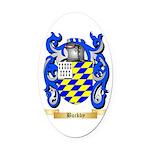 Buckby Oval Car Magnet
