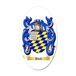Buck Oval Car Magnet