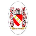 Buchsenbaum Sticker (Oval 50 pk)