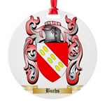 Buchs Round Ornament