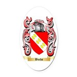 Buchs Oval Car Magnet