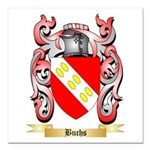 Buchs Square Car Magnet 3
