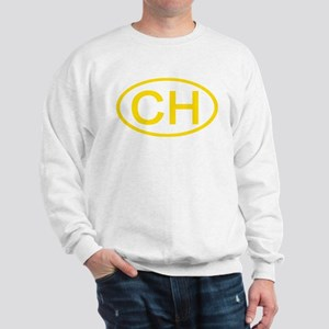 Switzerland - CH Oval Sweatshirt
