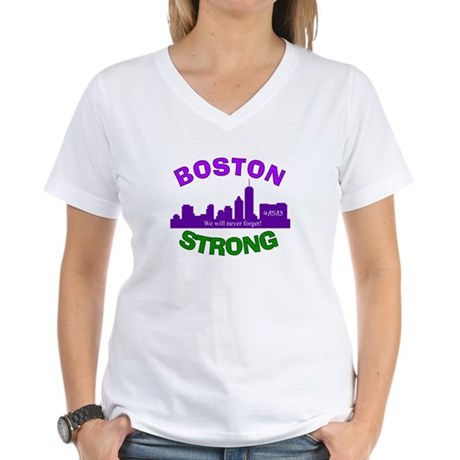 BOSTON STRONG CURVED 6 T-Shirt