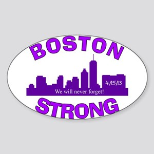 BOSTON STRONG CURVED 5 Sticker