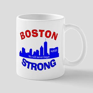 BOSTON STRONG CURVED 4 Mug