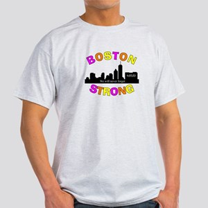 BOSTON STRONG CURVED 3 T-Shirt