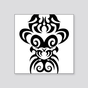 Maori tribal face Sticker