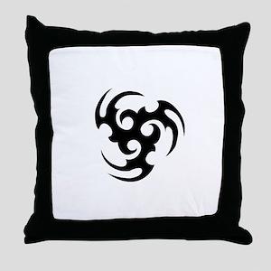 Triskel Throw Pillow