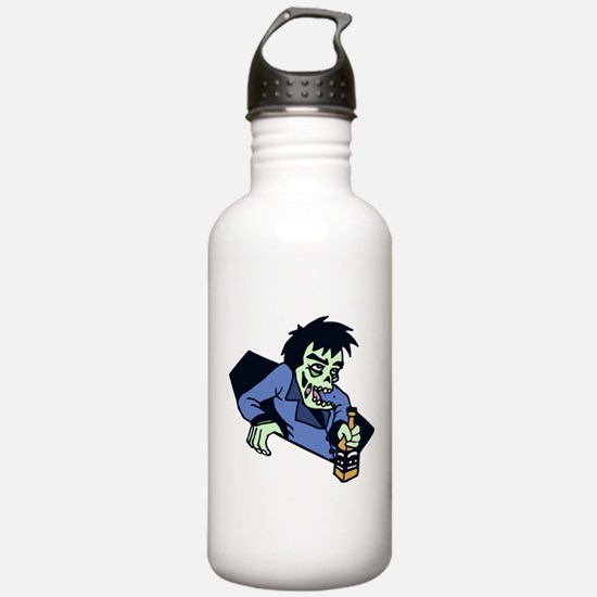 Drunk zombi Water Bottle