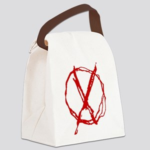 Operator Symbol Canvas Lunch Bag
