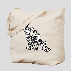 Blowjob bones Tote Bag