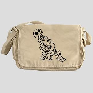 Blowjob bones Messenger Bag