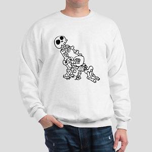 Blowjob bones Sweatshirt