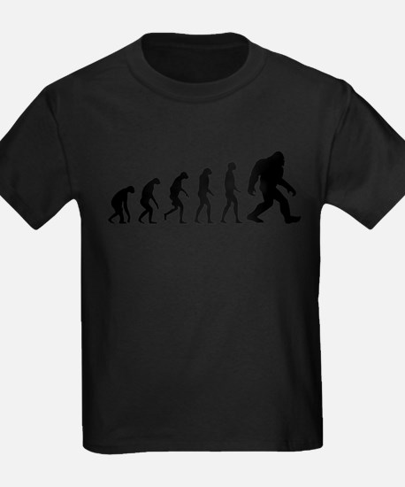 Evolution to Bigfoot The Ascent of Bigfoot T-Shirt