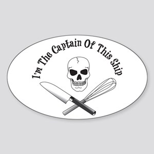 Captain Of The Ship Sticker