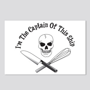 Captain Of The Ship Postcards (Package of 8)
