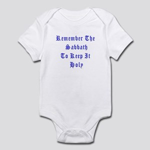 Remember the Sabbath Infant Bodysuit