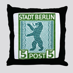 Antique 1945 Germany Beling Bear Postage Stamp Thr