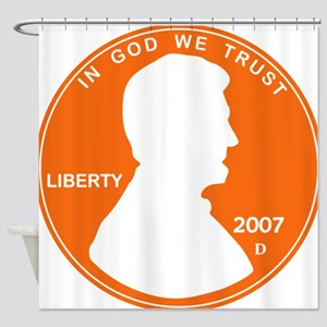 Penny Lincoln Cut Out Shower Curtain