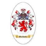 Buchholtz Sticker (Oval 50 pk)