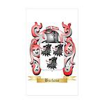 Buchane Sticker (Rectangle 50 pk)