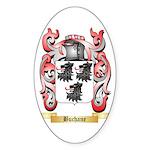 Buchane Sticker (Oval 50 pk)