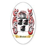 Buchan Sticker (Oval 50 pk)