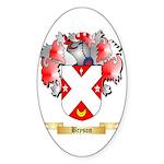 Bryson Sticker (Oval 50 pk)