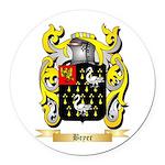 Bryer Round Car Magnet