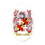 Bryceland Oval Car Magnet