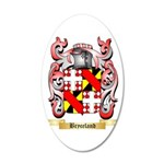 Bryceland 20x12 Oval Wall Decal
