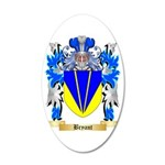 Bryant 35x21 Oval Wall Decal