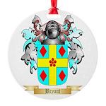 Bryant 2 Round Ornament