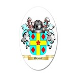 Bryant 2 20x12 Oval Wall Decal